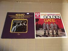 THE GOLDEN GATE QUARTET - GOSPELS SPIRITUALS SWING + GOLDEN GREATS - 3 LP