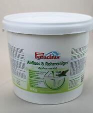 PASTACLEAN Bad Abflußreiniger Rohrreiniger WC Reiniger Zedernwald 4 kg