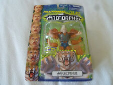 NEW ON CARD TRANSFORMERS ANIMORPHS FIGURE JAKE TIGER SABER CLAWS HASBRO 1998 NOC