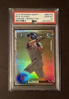 2016 Bowman Chrome Pete Alonso Refractor RC Rookie Draft #BDC92 PSA 10 GEM MINT