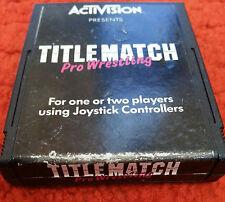 Atari 2600. Titlematch Pro Wrestling (Activision)