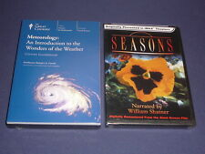 Teaching Co Great Courses DVDs  METEOROLOGY WONDERS of the WEATHER  new  + BONUS