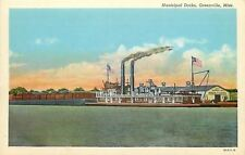 Greenville Mississippi~Municipal Port Docks & Terminal 1920s