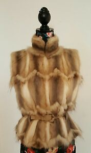 fendi fur gilet jacket new rrp £5000 size 36 uk 8 us 6