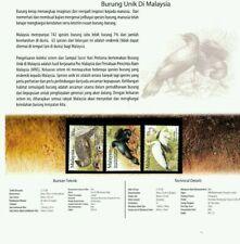 [SJ] Unique Birds Of Malaysia 2009 Wildlife Animal Fauna (p.pack) MNH