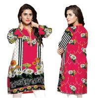 Sufia Fashions® Women Pakistani Kurta Cotton Designer Digital Print Tunic