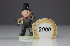 Goebel 10 - 611 ramoneurs 2000 porte-bonheur porcelaine