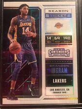 2018-19 Contenders Brandon Ingram Building Blocks Variation 4/10 SSP LA Lakers