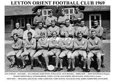 LEYTON ORIENT f.c.team stampa 1969 (MANCINI / Plume / fairbrother)