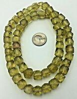 Antique VTG Czech Bohemian Bicone Kancamba Old Trade Bead Art Nouveau Deco Era