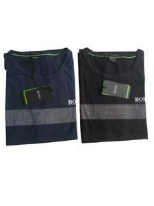 Hugo Boss Men's Designer Graphic Premium Cotton Shirt Crew Neck T-shirt