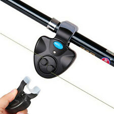 Electronic Fishing Rod LED Light Bell Clip Fish Bite Alarm Tool