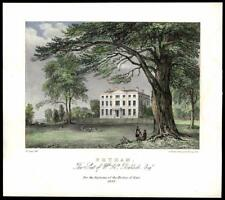 "1838 KENT - ""PETHAM"" Seat of William Baldock Esq, CANTERBURY(47)"