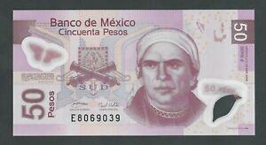 MEXICO 50 PESOS 2008   P- 123Ag UNC
