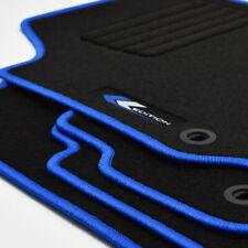 Mattenprofis Velours Fußmatten Edition blau für VW Polo 9N ab Bj.2001 -2009 oval