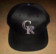 Colorado Rockies hat VINTAGE snapback 90's RaRe cap baseball MLB vtg ballcap