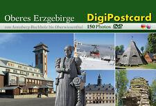 """DigiPostcard """"Von Annaberg-Buchholz bis Oberwiesenthal"""" - Ansichtskarte mit DVD"""
