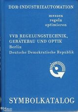 VVB Regelungstechnik Gerätebau Optik DDR Industrieautomation Symbolkatalog