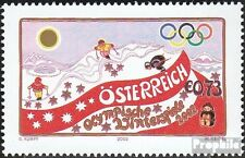Austria 2369 (complete issue) unmounted mint / never hinged 2002 Winter Games