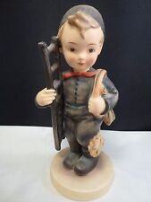 "Vntg Hummel-Chimney-Sweep-Litt le-Boy-Ladder-Sweeper, 12/1 6.5"" Tall"