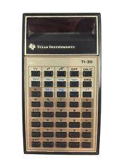 Calculatrice Texas Instruments Ti-30 Vintage Calculator