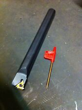 """3/4"""" Threading Boring Bar New With Wrench And 1 Insert"""