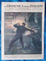 La Domenica degli Italiani o del Corriere 30 dicembre 1945 Tirpitz-Genova-Londra