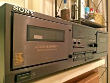 Sony TC-WR531 Dual Cassette Deck Player - For Parts or Repair