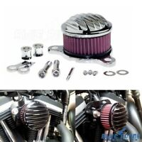 Motorcycle Engine Air Cleaner Filter System Kit For Harley Sportster XL 1988-Up