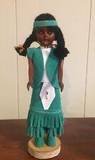Vintage - Indien Art Eskimo Inc.- Sleepy Eyes - Indian Doll - Made in Canada