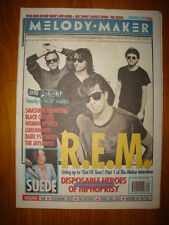 MELODY MAKER 1992 SEP 26 REM SEX PISTOLS PUMPKINS SUEDE