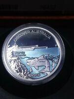 SCARCE 2008 Darwin Australia 1 OZ Silver Dollar Perth Mint