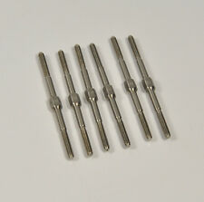 5pcs M3 x 60 mm Metal Push-pull Rods For RC Airplane Stable Connection Rod