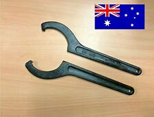 x2 Adjustment Wrench Damper Shock Spring Universal Coilover Spanner Tool 85-105