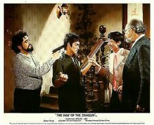 THE WAY OF the DRAGON ORIGINAL LOBBY CARD BRUCE LEE Martial Arts classic 1972
