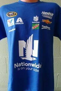 Dale Jr Nationwide Racing Uniform T- Shirt Adult - 2XL  # 88 Team Hendricks