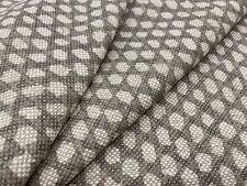 Fermoie All Over Print Dot Linen Fabric- Wicker / Linen 3.20 yd (N-106)