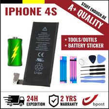 A+ REPLACEMENT VERVANG BATTERY/BATTERIJ/BATTERIE + TOOLS &STICKERS FOR IPHONE 4S