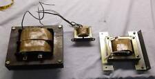3 Copper Coil plate Power Transformers 9100-2195 9100-1974 Variable 115-230V Set