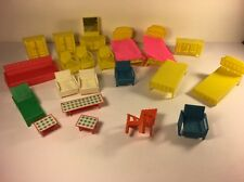 Vintage Little Kiddles Dolls Furniture House Chair Lot Of 21 6 Broken Mattel Toy