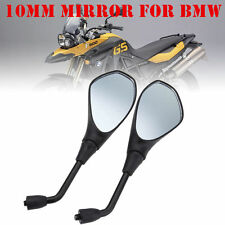 Motorcycle Rearview Mirror For BMW F650GS F800GS F800R Aprilia Tuono SL750 AA