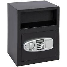 Digital Depository Safe Drop Deposit Front Load Cash Vault Lock Box Home Jewelry