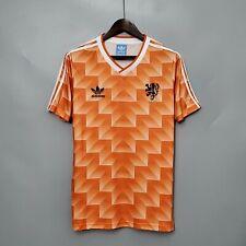More details for holland netherlands football soccer shirt jersey retro vintage classic 1988 uk