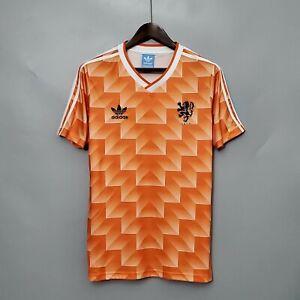 Holland Netherlands Football Soccer Shirt Jersey Retro Vintage Classic 1988 UK