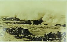 .POINT DANGER , SNAPPER (SCHNAPPER) ROCKS RARE EARLY 1900'S REAL PHOTO POSTCARD