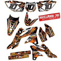 2016 2017 2018 KTM SXF 250 350 450 GRAPHICS KIT SX-F DIRT BIKE DECALS 21 MIL