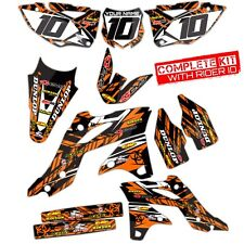 2007 2008 2009 2010 KTM SX SXF 125 250 450 525 GRAPHICS KIT MOTOCROSS BIKE DECAL