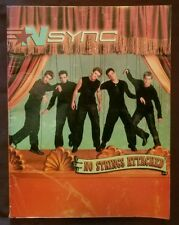 Nsync No Strings Attached Piano Vocal Guitar chords book 2000