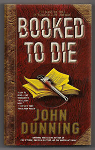 BOOKED TO DIE by JOHN DUNNING  1st POCKET BOOKS PB 2001