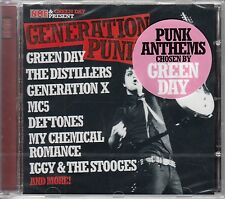 NME & GREEN DAY Present Generation Punk 14-trk CD SEALED Dead Kennedys Stooges